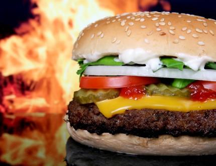 Yummy cheeseburger